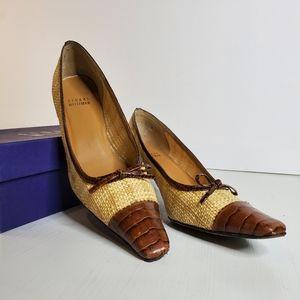 {HP} Vintage Stuart Weitzman Out Take a Bow Heels